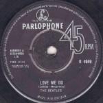 Love Me Do single label