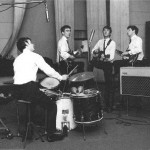 The Beatles first session