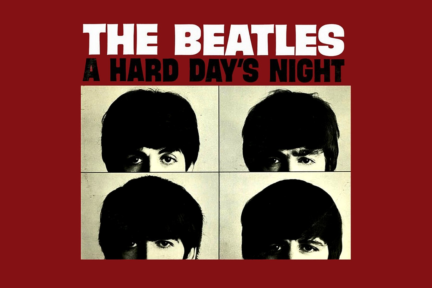 A Hard Days Night Inspired Desktop Wallpaper