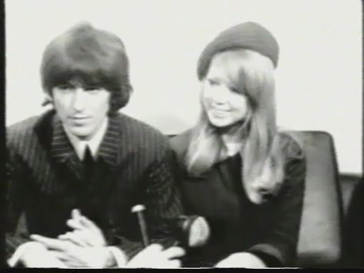 George Harrison and Pattie Boyd engagement