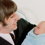 Ringo Starr with Baby Zak