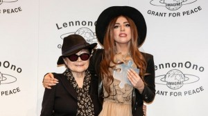 Yoko Ono reward Lady Gaga with LennonOno Grant for Peace