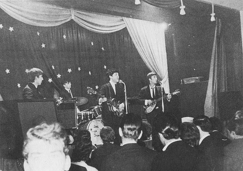 Beatles live Kent 12 January 1963
