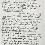 John Lennon letter to Eric Clapton