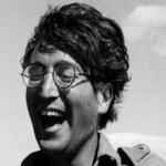 John Lennon playing cricket