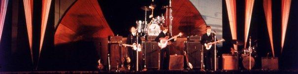 Beatles USA 1964 tour in colour