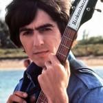 George Harrison on scene in the Bahamas, 1965