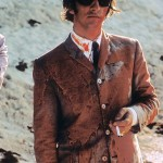 """Ringo Starr covered in paint after filming a scene for """"Help!"""" in the Bahamas in 1965"""