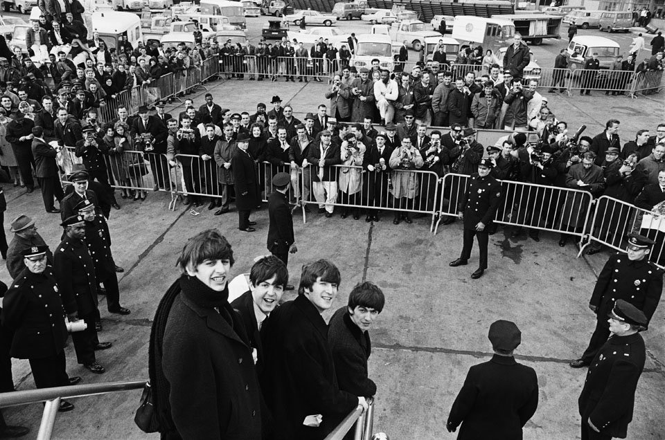 The beatles photos by harry benson