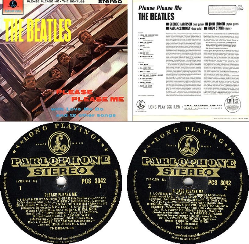 Please Please Me album 50th anniversary