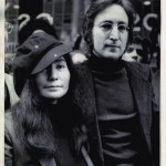 John Lennon with Yoko Ono 23 March 1972