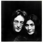 John Lennon with Yoko Ono
