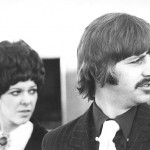 Ringo Starr with Maureen in Rome 3 December 1967