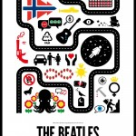 Beatles pictorial poster quiz