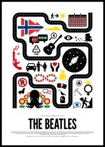 Beatles pictorial poster quiz