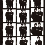 David Bailey Beatles photo session contact sheets 1