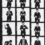 David Bailey Beatle Paul photo session contact sheets 7