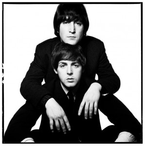John Lennon Paul McCartney 1965 David Bailey