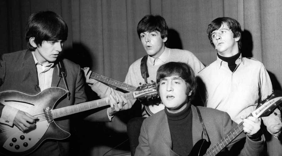 Photos Of The Beatles In Bbc Studios Beatles Archive