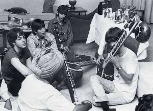 The Beatles, New Delhi, 7 July 1966
