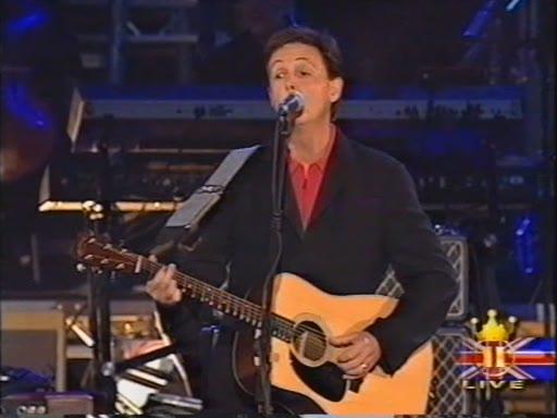 Paul McCartney at Queen's Golden Jubilee 2002