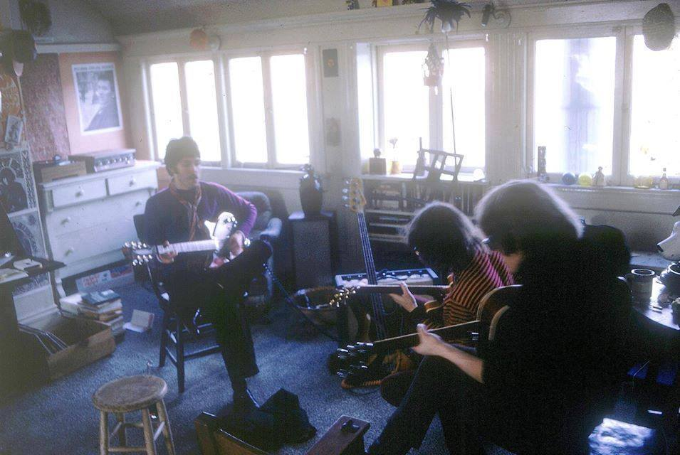 Paul McCartney jamming with Jefferson Airplane