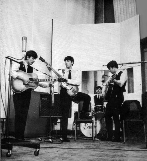 March 5th 1963, Abbey Road Studios, From Me to You, Thank You Girl