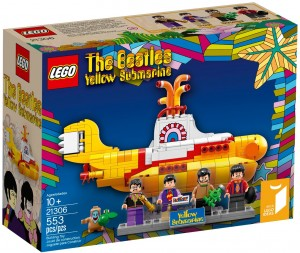 The Beatles' Yellow Submarine Lego set