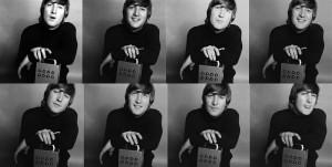 John Lennon with Alex Mardas' Nothing Box