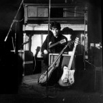 George Harrison at the Top Ten Club in Hamburg, 1961