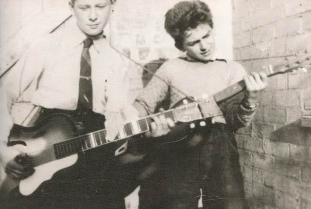 George and school friend Arthur Kelly, Liverpool, 1950s
