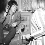 Paul and Linda at the Launch Party of Sgt Pepper