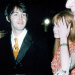Paul McCartney with Jane Asher at the premiere of How I Won The War