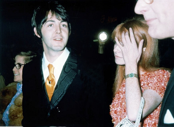 Paul McCartney With Jane Asher Premiere How I Won The War