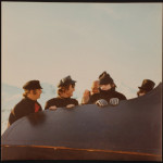 The Beatles filming Help! in Obertauern, Austria, in March 1965