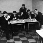 A tea with George Martin at the EMI canteen