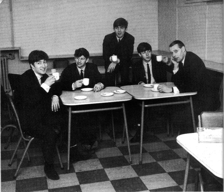 a tea with George Martin