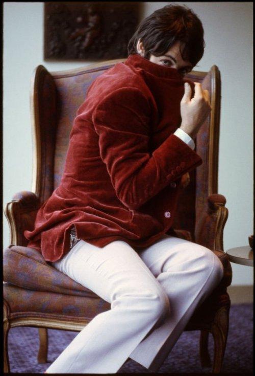 Paul McCartney by Linda Los Angeles 1968