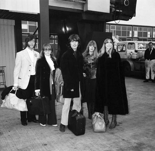 Leaving for India 1968