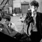 The Beatles at Abbey Road in September 1963 by Norman Parkinson