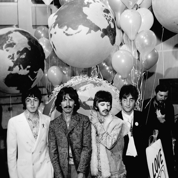 beatles our world