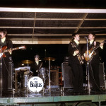 The Beatles at Busch Stadium in St Louis, Missouri