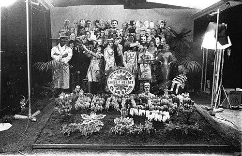 Sgt Pepper Cover shoot