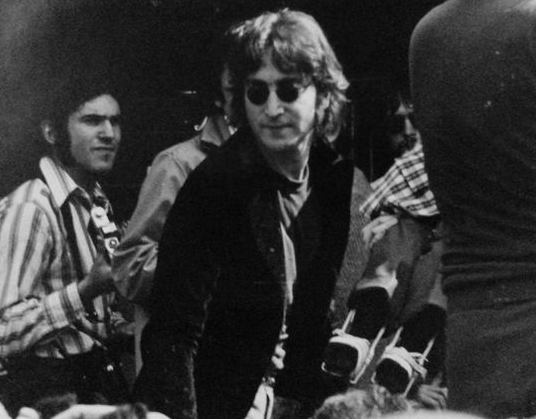 John Lennon at the March Of Dimes Benefit