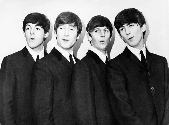 Lead vocal of Beatles songs