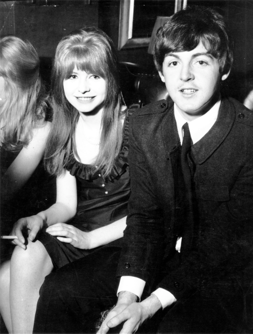 Jane Asher and Paul McCartney 1964