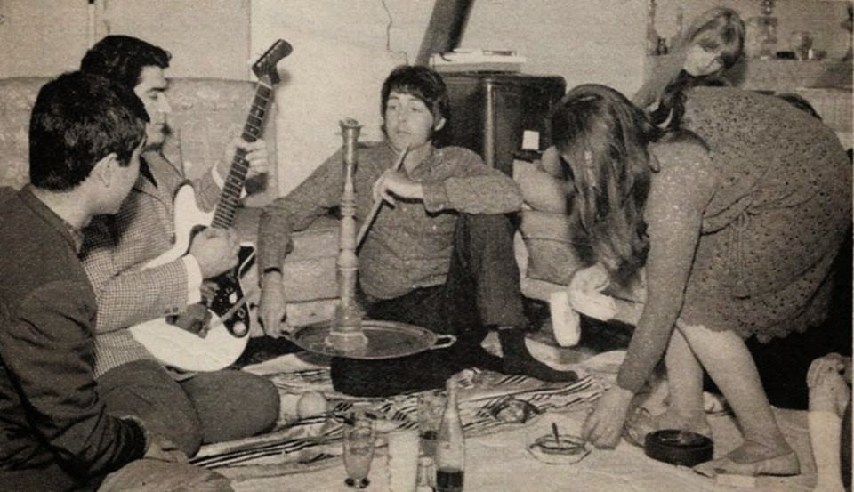 Paul McCartney in Tehran
