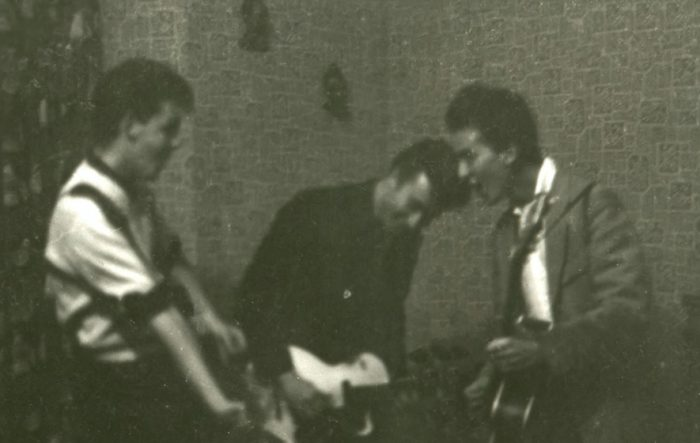 The Quarrymen 1959 Previously unpublished photo