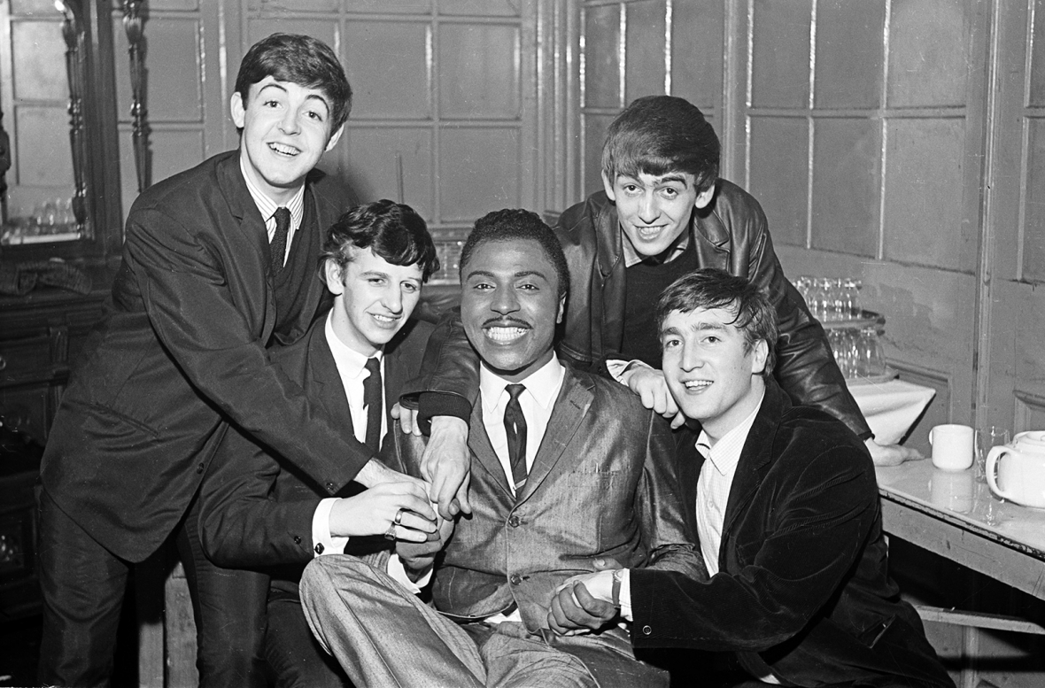 The Beatles and Little Richard