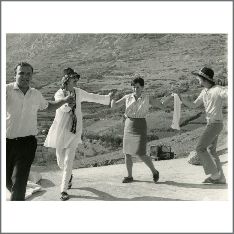 John Lennon & George Harrison 1967 Greece